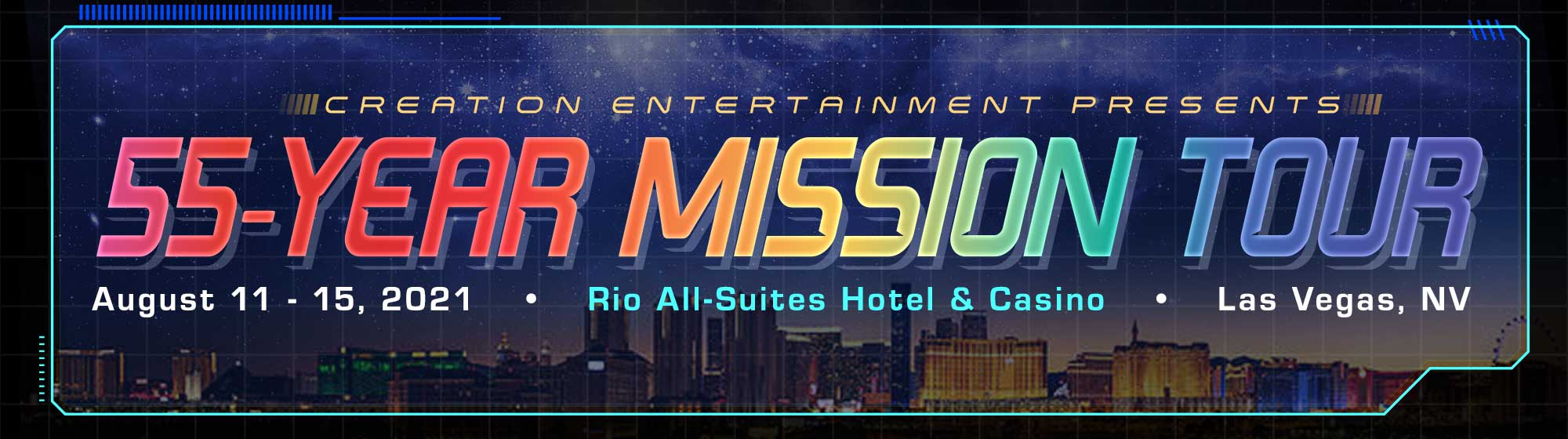 55 Year Mission Las Vegas