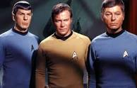 Spock Kirk and McCoy