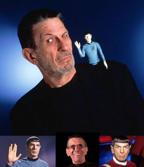 Nimoy Collage