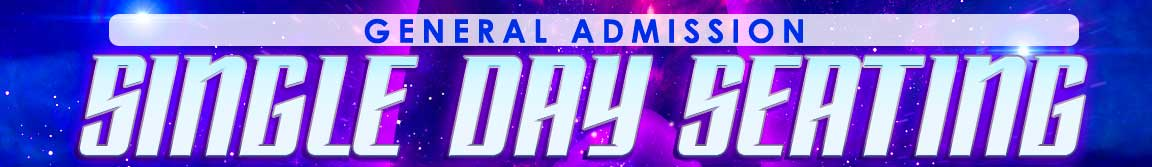 Star Trek  Single Day General Admission Seating