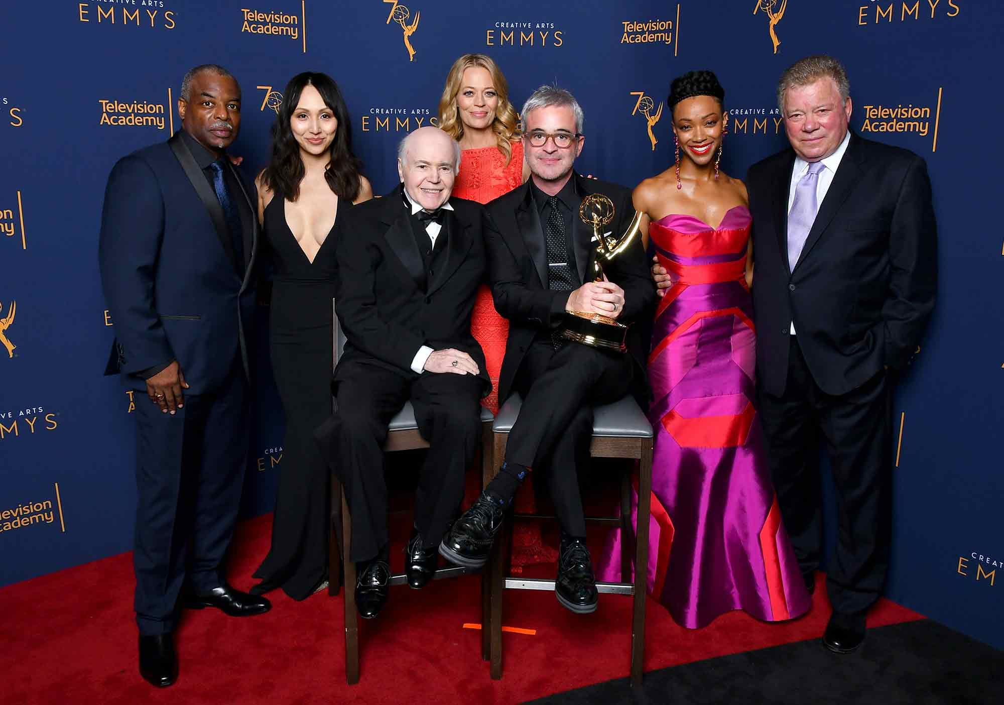 Star Trek at the Emmys