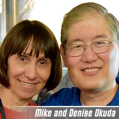 Mike and Denise Okuda