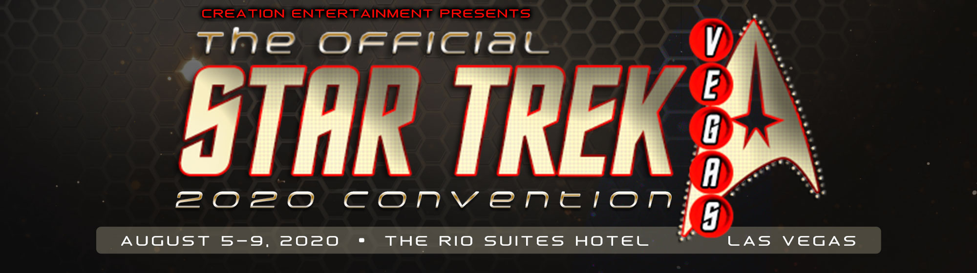 Creation Entertainment's Official Star Trek Convention Las Vegas 2020
