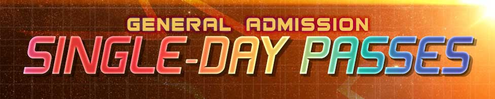 General Admission Single-Day Passes Header