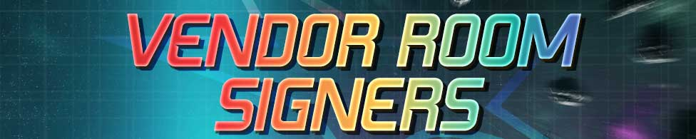 Vendors Room Signers Header