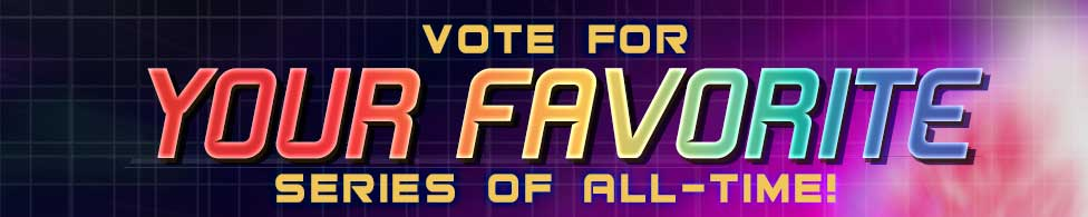 Vote for your favorite Star Trek TV series of All-Time