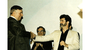 Gene Roddenberry and George Lucas