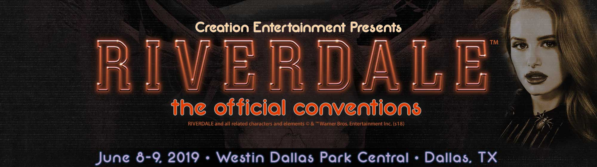 Creation Entertainment's Riverdale The Offical Convention in
