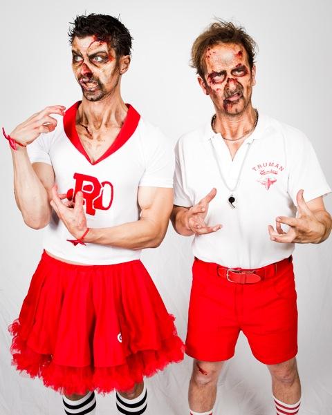 Dick and Matt Class of 2013