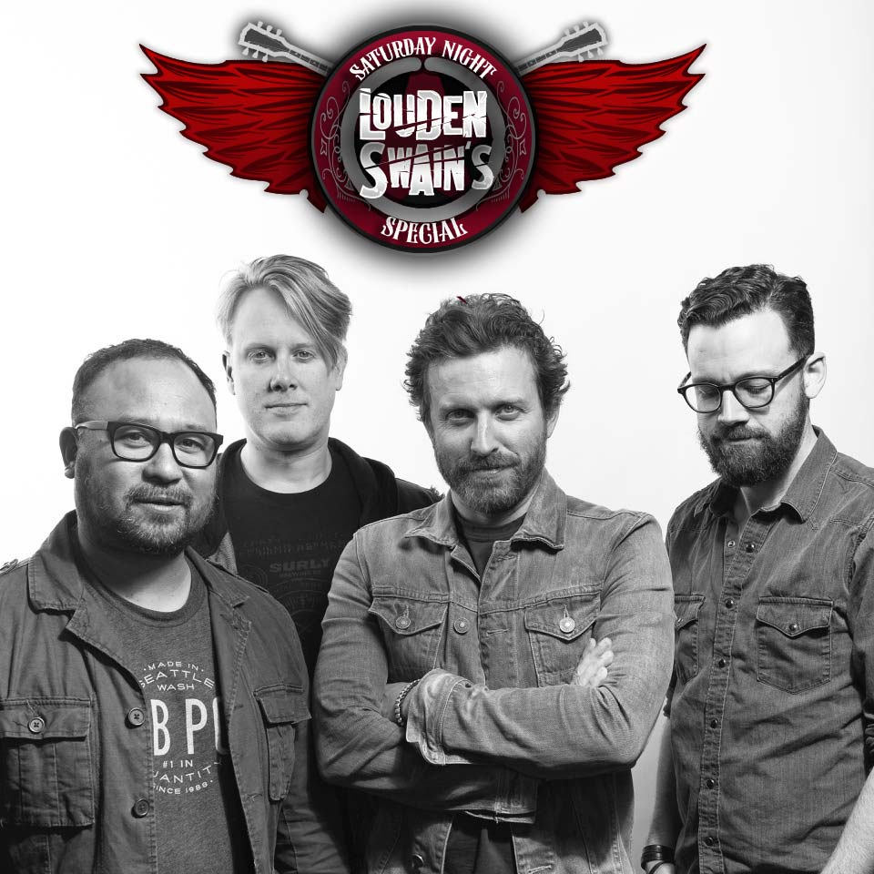 Louden Swain crossing the street