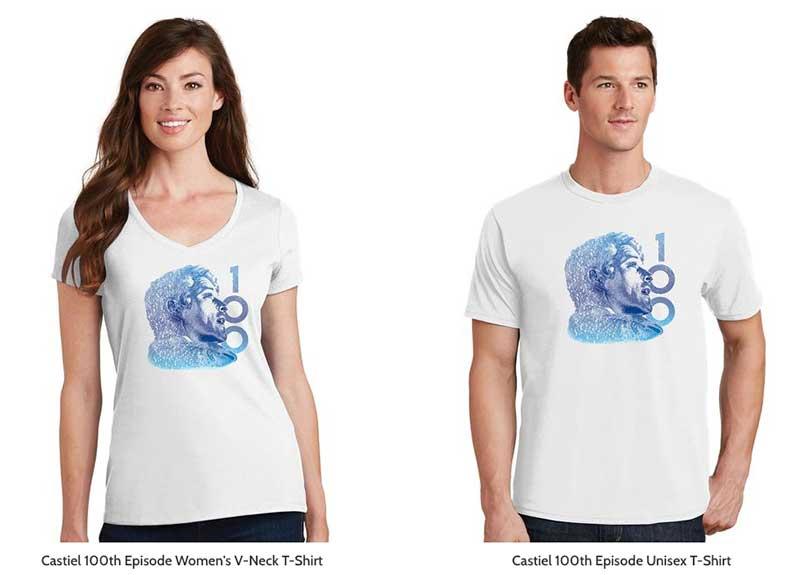 Castiel 100 T-shirt