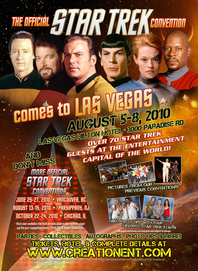 Star Trek Las Vegas Convention 2010 - Trek General - The