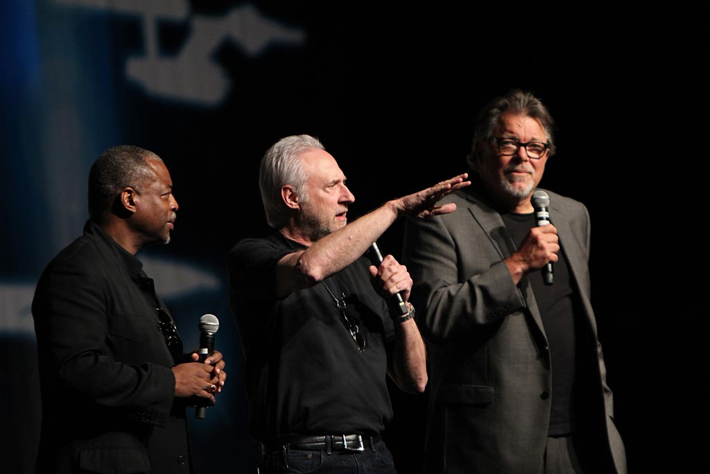 Burton, Spiner and Frakes