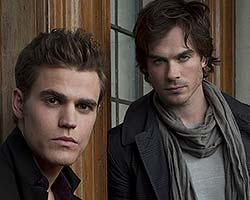 Ian and Paul of The Vampire Diaries