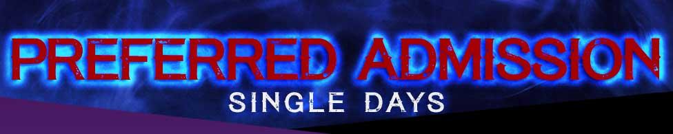 Preferred Admission Single Days
