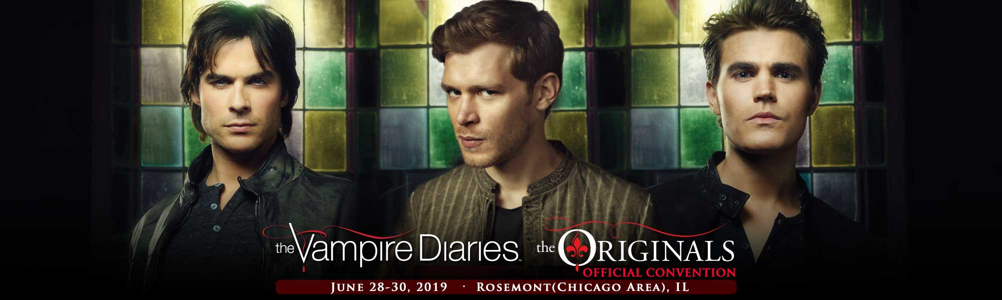 reputable site 9c936 42d54 The Vampire Diaries and The Originals Official Convention Chicago, IL June  28-20,