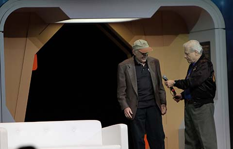 Walter Koenig and Harlan Ellison