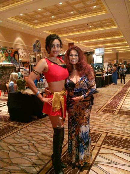 BarBara Luna and Star Trek Cosplayer