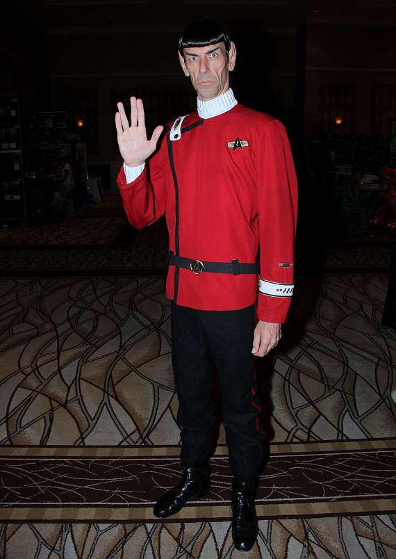 Cosplay Spock