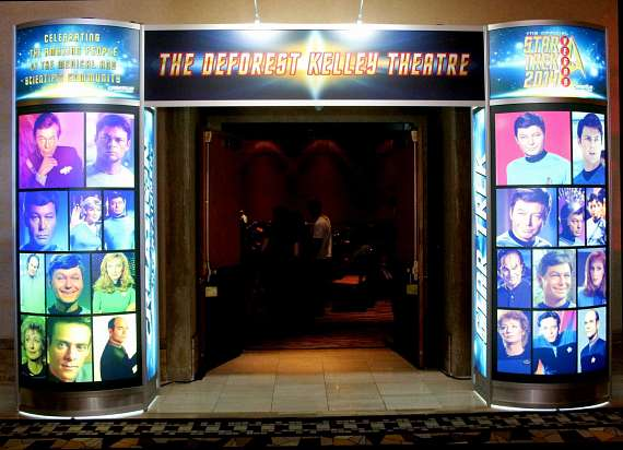 DeForest Kelly Entry Way