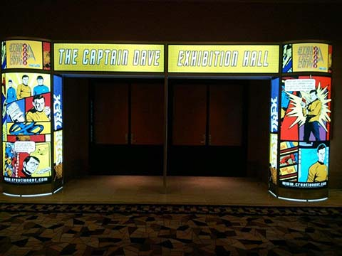 Vendor Entry Way