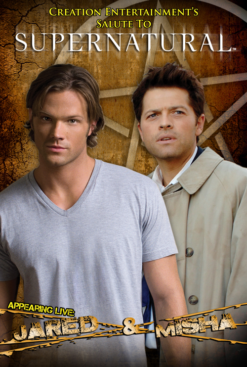jared padalecki and Misha Collins
