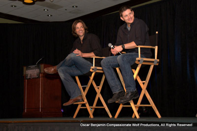 Jared and Jensen On Stage