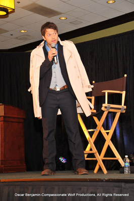 Misha Collins On Stage