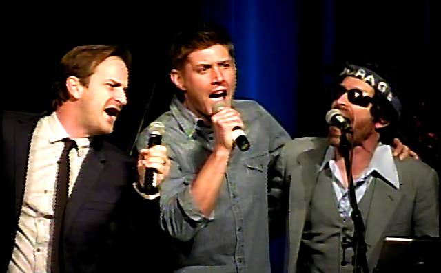 Jensen with Speight and Benedict