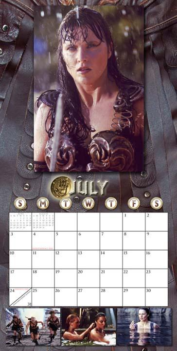 Xena 2011 Photo Calendar