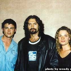 Karl Urban, Kevin Smith and Danielle Cormack