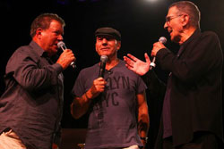 William Shatner, Sir Patrick Stewart and Leonard Nimoy