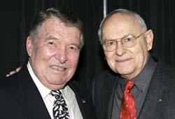 Wally Schirra and Alan Bean