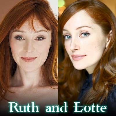 Ruth Connell and Lotte Verbeek
